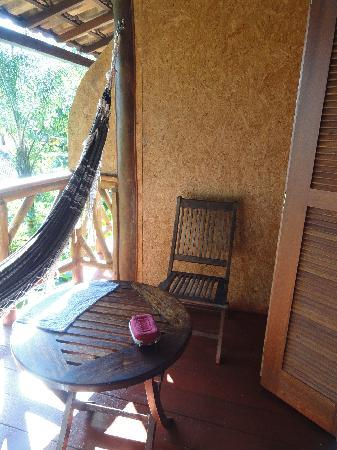 Pousada Naturalia : Our balcony