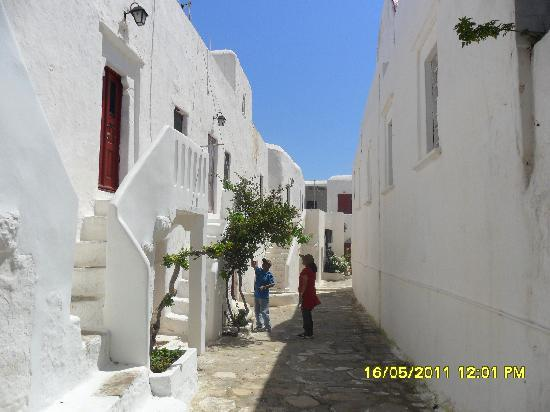 Mykonos, Greece: Ano Mera Village