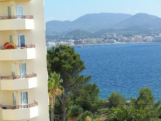 Fiesta Hotel Tanit: View from our room, over the bay.