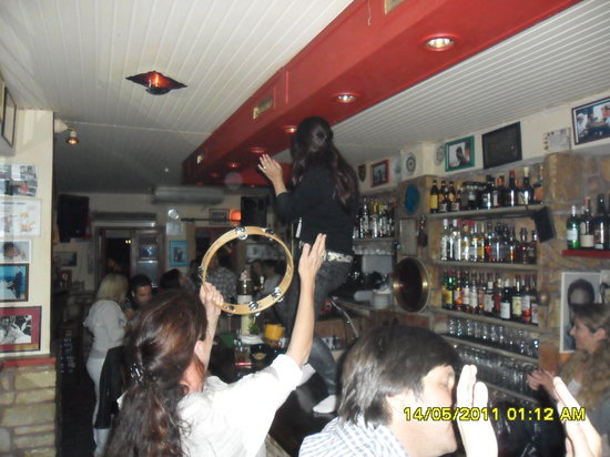 The Flaming Greek Garden : My Cayote Ugly Moment at The Flaming Greek