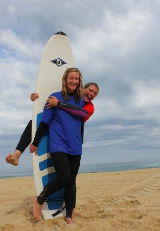 West Coast Surfari: Having fun before the lesson