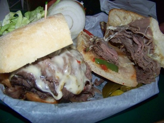 Fort Street Brewery: Philly Cheese Steak