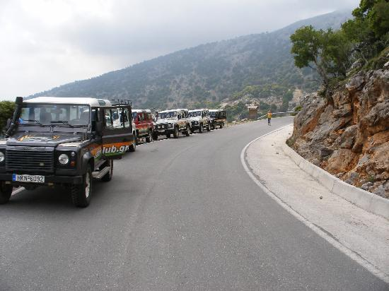 Safari Club Crete: The convoy