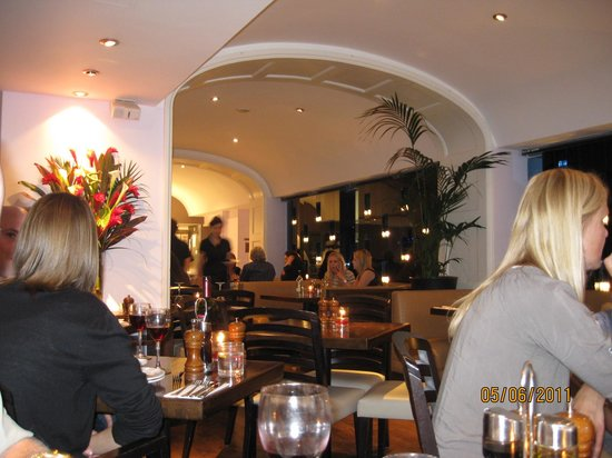 Prezzo - North Audley Street: View from our table