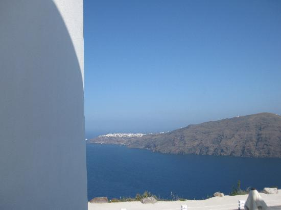 Rocabella Santorini Resort & Spa: View from our room