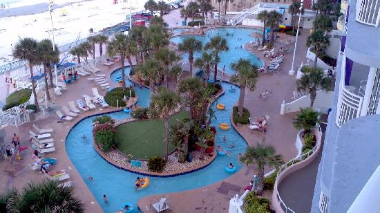 The Lazy River And Pool With