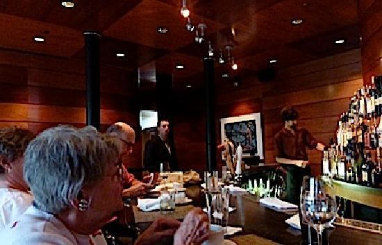 The bar at Fiori Restaurant