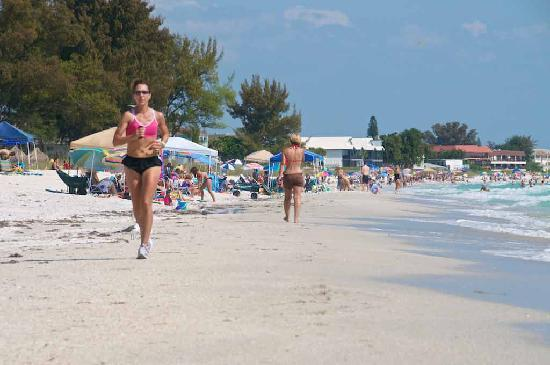 Haleys Motel and Resort: What a great beach!