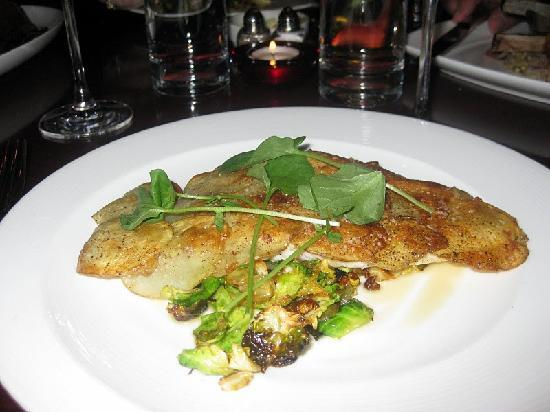 Kelly Liken: Rocky Mountain Trout with Brussel Sprouts