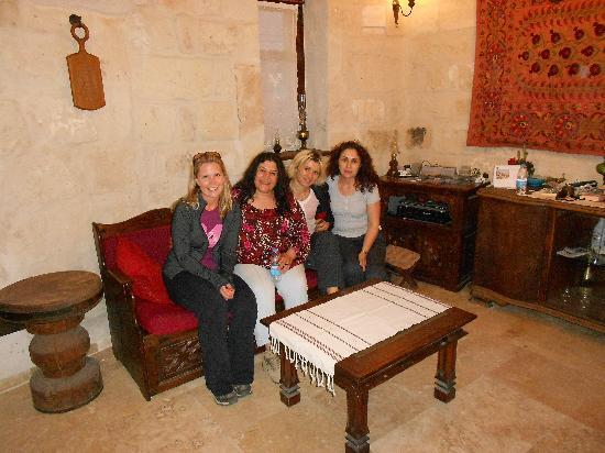 Koza Cave Hotel: the girls