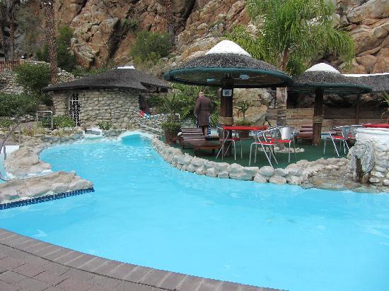 "Montagu, Sudafrica: The ""cold"" pool"