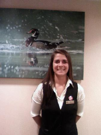 Homewood Suites by Hilton Chattanooga/Hamilton Place: HOLLY THOMPSON DESK CLERK