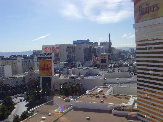 Mirage strip view room review