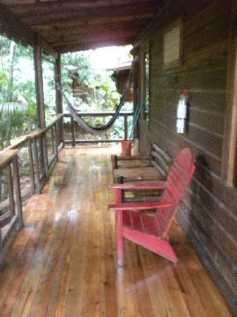Mango Inn: porch