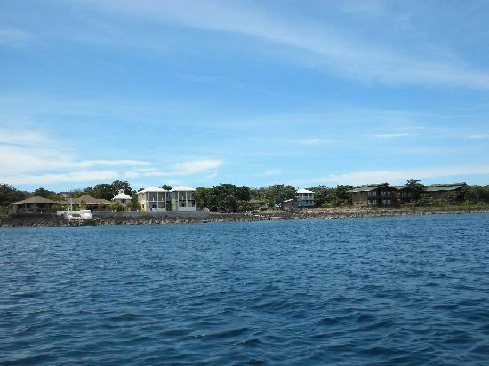 Vivaro Roatan: view from diving boat