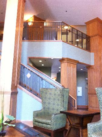 Sleep Inn at Court Square: The lobby area