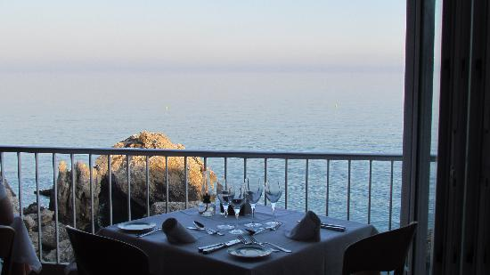 Hotel Balcon de Europa : View from dining room