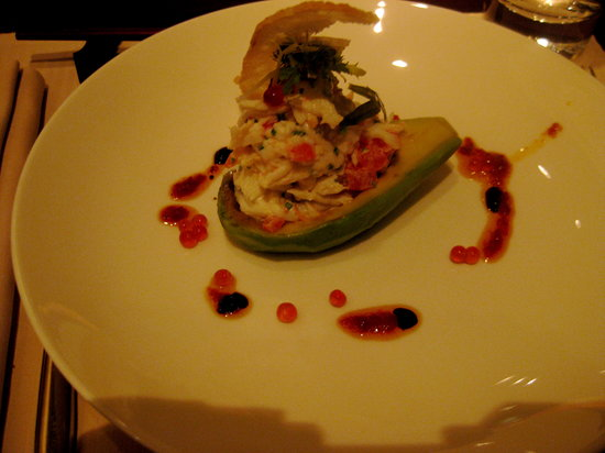 Grill Asia: Crab and avocado salad