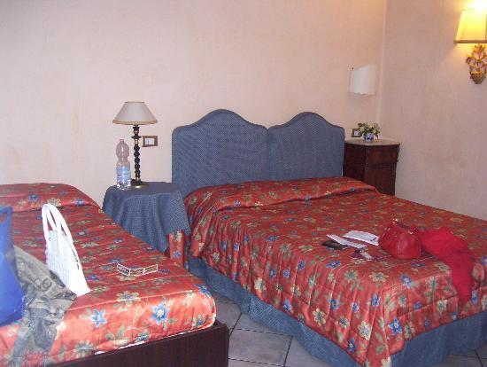 Villa Piccola Siena: das Zimmer