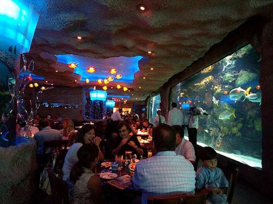 Aquarium Restaurant Houston Texas