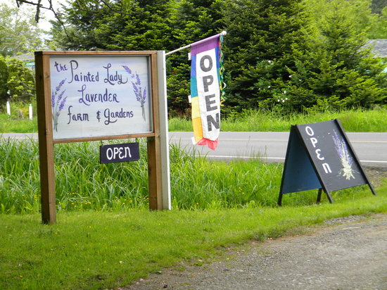 Ilwaco, WA: signs at the entrace on 101