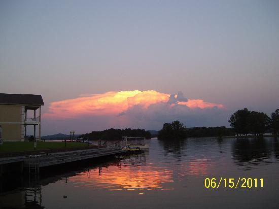 Baymont Inn & Suites Hot Springs: Beautiful sunset
