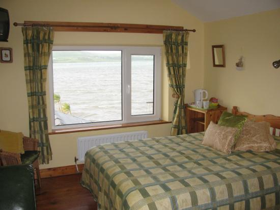 Our room at Dingle's First Cottage by the Sea