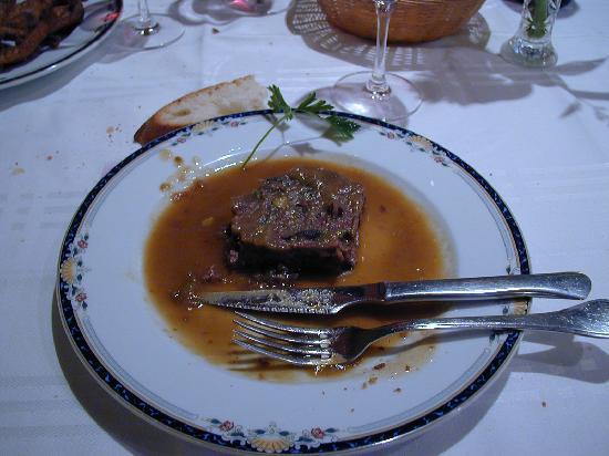 Restaurante Matarrana : Terrina de Ciervo