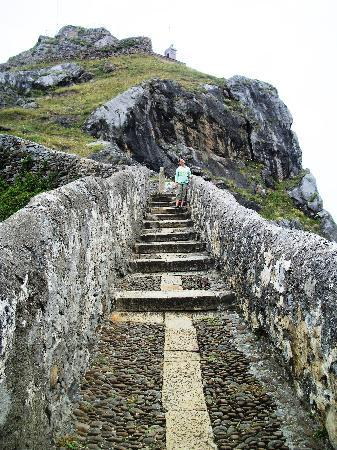 Bermeo, Spanyol: the steps