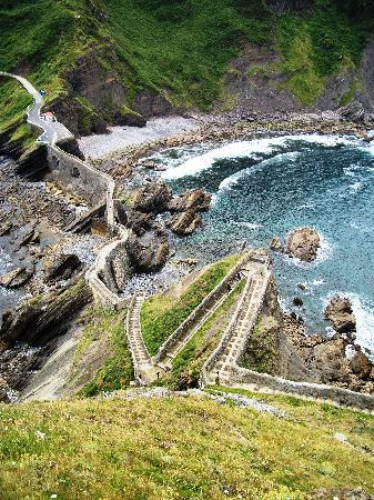 Bermeo, Spain: The view from the top