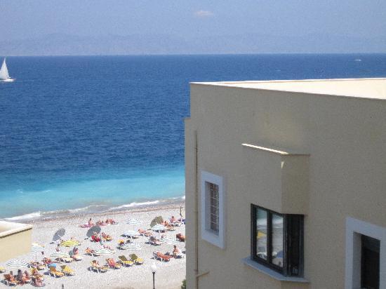 Nafsika Hotel: Blick von dem Balkon