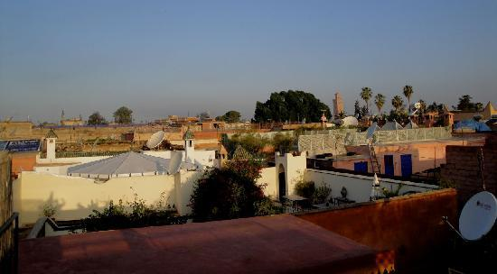 Riad Dar Nakhla: View from the terrace at Dar Nakhla