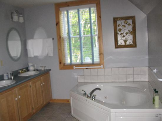 Mackenzie's Motel and Cottages: wonderful tub