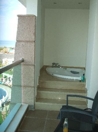 Jacuzzi On The Balcony Picture Of Sherwood Dreams Resort Bogazkent Tripadvisor