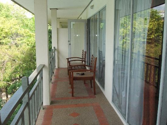 Green Park Resort: балкон