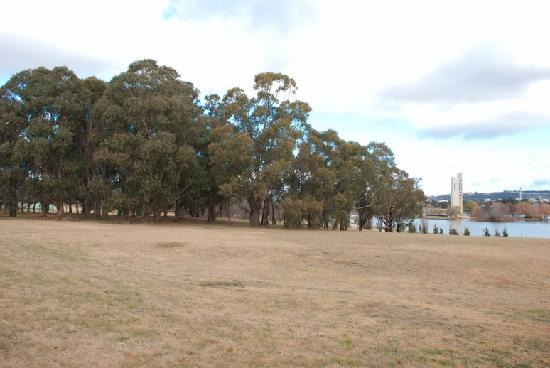 King's Park: National Carillon in the background