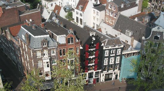 West Church (Westerkerk): Tall and skinny building