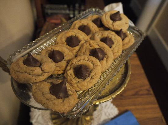 Heritage Inn B&B: Delicious afternoon cookies