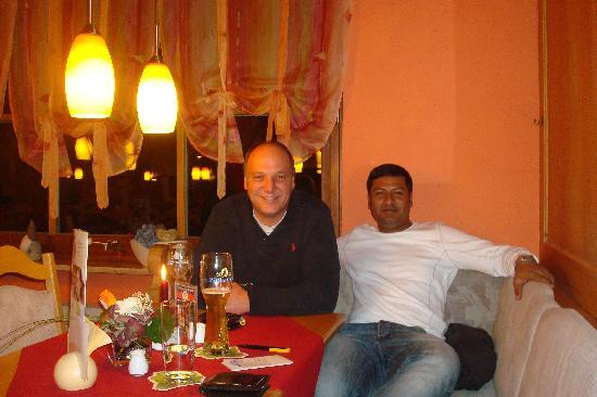Landhotel Zum Franke : With Gerald At Zum Franke