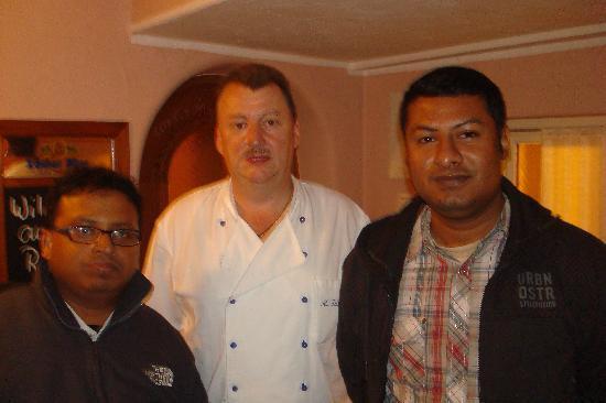 Landhotel Zum Franke : With Owner of Zum Franke