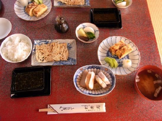 Taisenkaku: 朝食