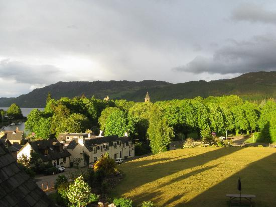 The Lovat, Loch Ness: view from my room