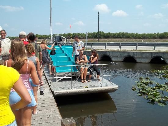 Safari Tours : the airboat