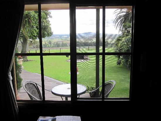 Snowy River Homestead Bed & Breakfast: View from room