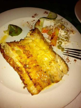 El Aljibe : Tasty buttery fish