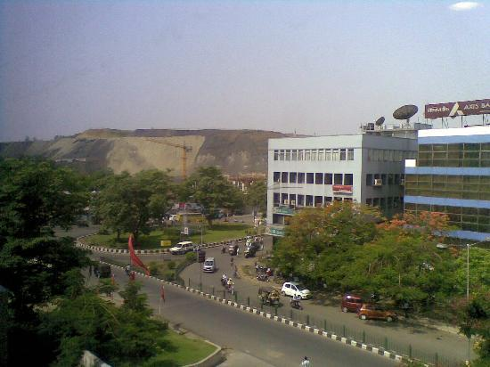 Ginger Hotel Jamshedpur: Outside View from Hotel
