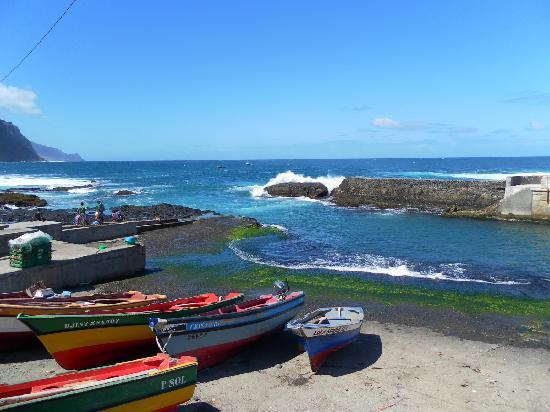 Ribeira Grande, Kap Verdeöarna: The fishing port