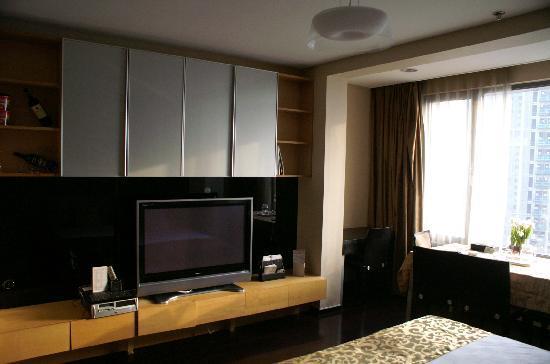Housing International Hotel: AV from room/livingroom