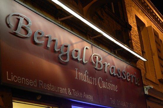 Bengal Brasserie: The brasserie
