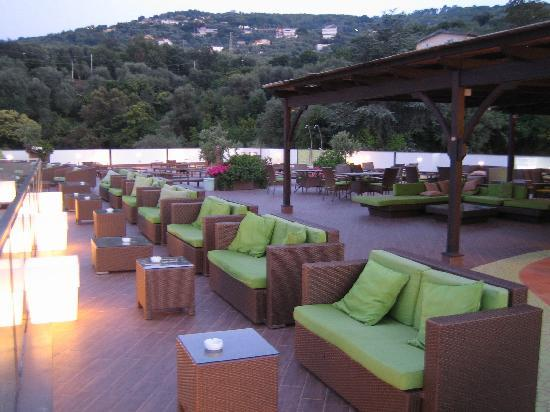 Grand Hotel President : The excellent quiet rooftop area